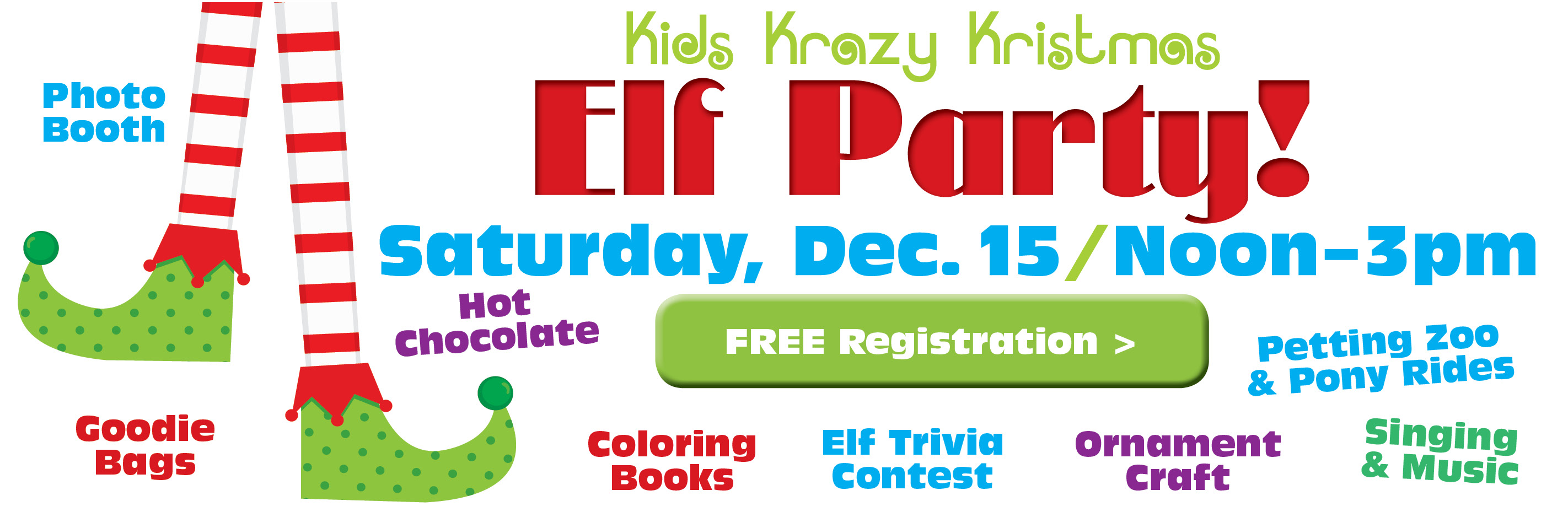 Register for Elf Party